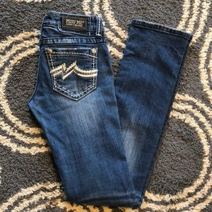 Miss Me Jeans - Miss Me Straight Jeans JD1038T2